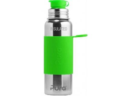 Pura Big Mouth silikonový sportovní uzávěr - zelený