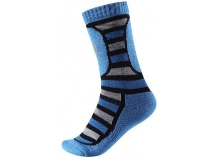 Kvalitní dětské vlněné zimní ponožky Reima Stork v modré barvě