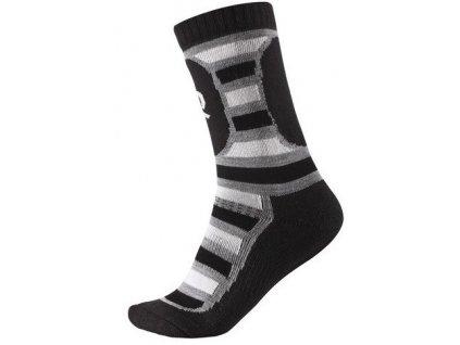 Kvalitní dětské vlněné zimní ponožky Reima Stork v černé barvě 77a23704c5