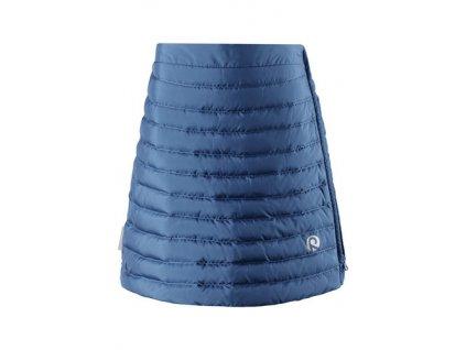 Kvalitní dětská dívčí zimní sukně Reima Floora - denim blue v modré barvě