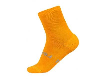 Kvalitní dětské vlněné zimní ponožky Reima Warm Woolmix v oranžové barvě e41344949d
