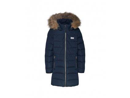 Dětský péřový kabát LEGO® Wear Jamila 709 modrý