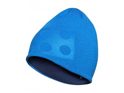 Kvalitní dětská zimní oboustranná čepice LEGO® Wear Aiden 717 ve světle modré barvě