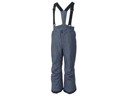 Kvalitní dětské zimní lyžařské kalhoty Color Kids David estate blue v šedé barvě