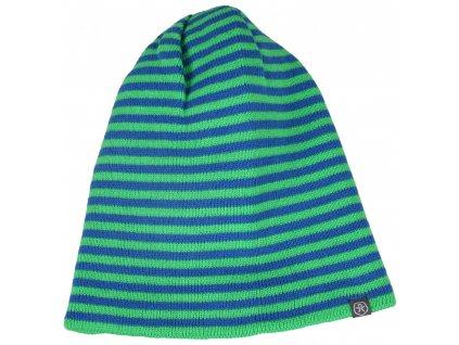 Kvalitní dětská zimní čepice Color Kids Sullivan toucan green v zelené barvě