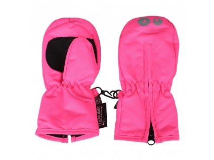 Kvalitní dětské zimní batolecí rukavice Color Kids Kompin candy pink v růžové barvě