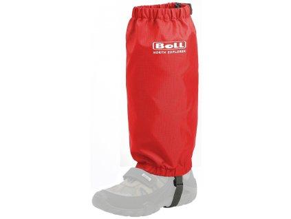 Kvalitní praktické návleky pro dětské boty Boll Kids Gaiter v červené barvě