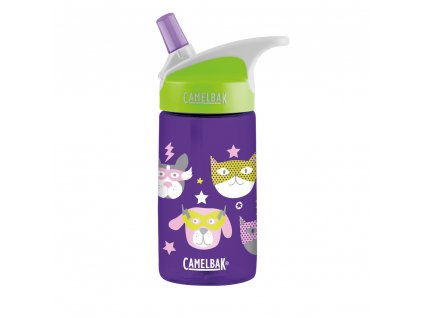 Kvalitní dětská láhev vyrobena ze zdravotně nezávadného materiálu a bez BPA CamelBak eddy Kids 0,4l - Heroes