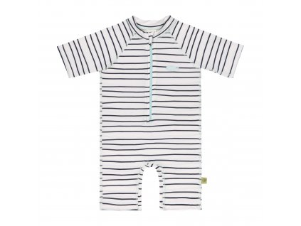 Lassig short sleeve sunsuit Little Sailor navy