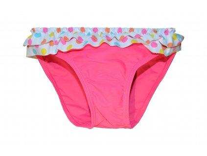 Kvalitní dívčí rychleschnoucí plavkové kalhotky Losan růžové
