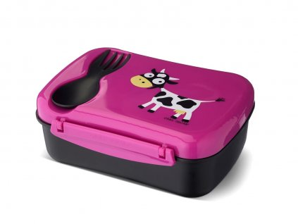 N'ice Box ™ Kids Carl Oscar® růžová - kravička