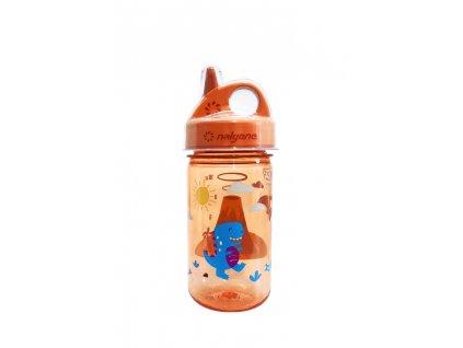 Nalgene dětská láhev Grip n´Gulp sopka
