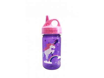 Nalgene dětská láhev Grip n´Gulp jednorožec