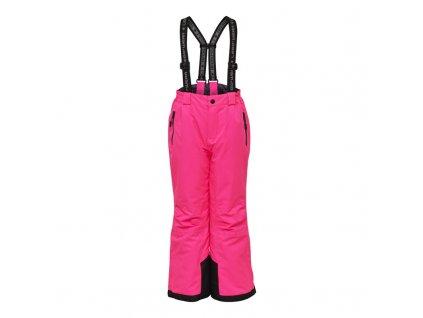Dětské lyžařské kalhoty LEGO® Wear Platon tmavě růžové