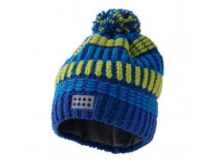 Dětská zimní čepice LEGO® Wear Alfred modrá
