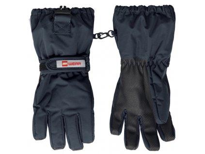 Dětské zimní rukavice LEGO® Wear Alfred šedé
