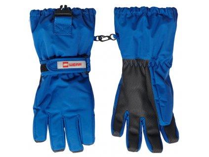 Dětské zimní rukavice LEGO® Wear Alfred modré