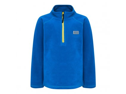 Dětská fleecová mikina LEGO® Wear Siam modrá