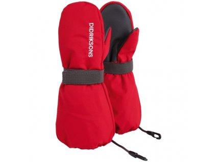 rukavice d1913 biggles detske cervena 3