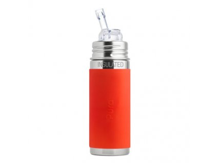 product kiki 9oz insulated straw orange 550x550