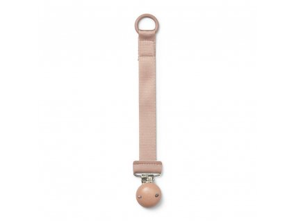 Pacifier clip wood faded rose