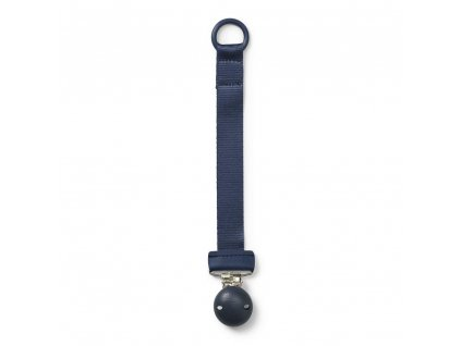 Pacifier clip wood juniper blue
