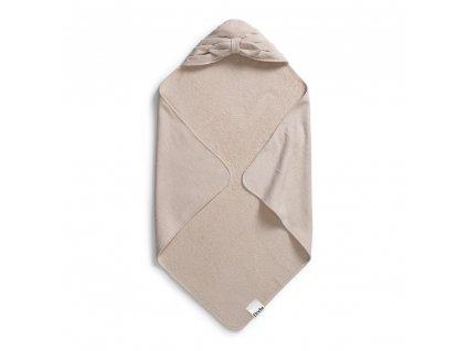 hooded towel powder pink bow elodie details 1 1000px