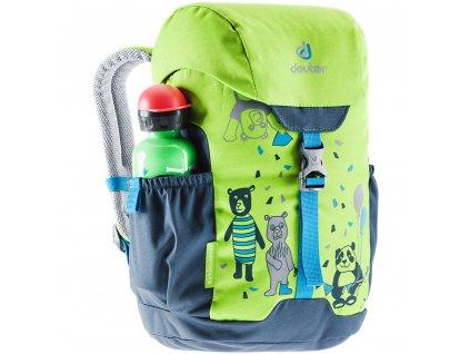Dětský batoh Deuter Schmusebär Kiwi - arctic / zelený
