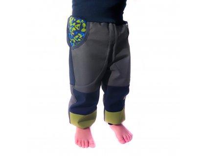 DUPETO rostouci softshellove kalhoty zimni boruvky 1