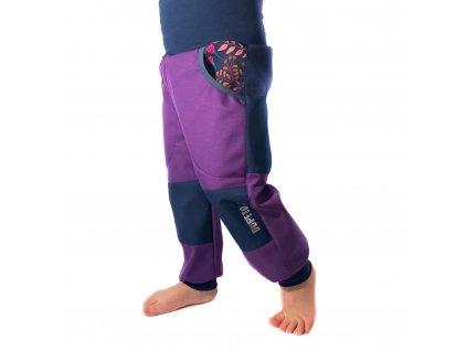 DUPETO rostouci softshellove kalhoty zimni louka 3