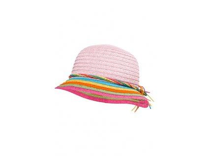 Dívčí klobouk Maximo růžový