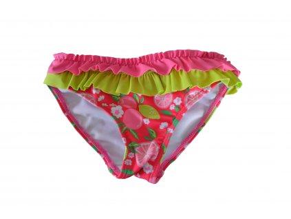 Dívčí plavkové kalhotky Losan citrusy