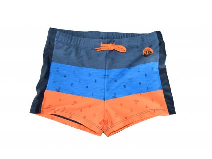 Chlapecké plavky Losan modro-oranžové