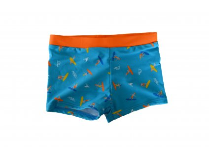 Chlapecké plavky Losan surf modro-oranžové