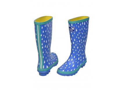 Puddlestomper wellies raindrop