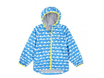 Ecolight jacket blue wave