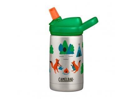 394499 detska lahev camelbak eddy kids vacuum stinless 0 35l camping foxes 79095