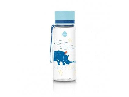 Kvalitní dětská plastová láhev vyrobena ze zdravotně nezávadného materiálu a bez BPA EQUA Rhino 0,4 l