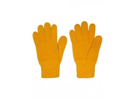 Dětské pletené rukavice Maximo medové
