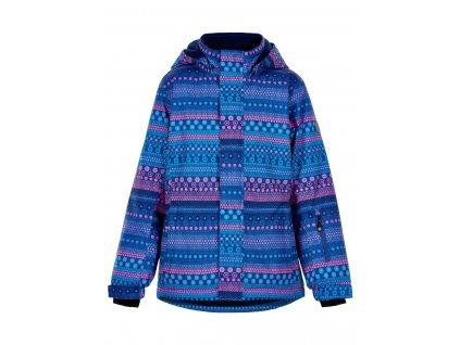 Dívčí lyžařská bunda Color Kids Galaxy Blue
