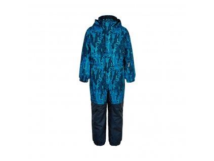 Dětský membránový overal Color Kids Dress Blues