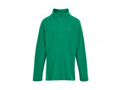 Dětská fleecová mikina Color Kids Golf Green