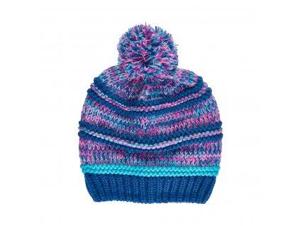 Dětská zimní čepice Color Kids Galaxy Blue