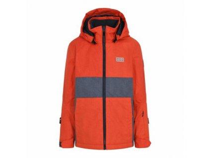 Dětská lyžařská  bunda LEGO® Wear Joshua červená