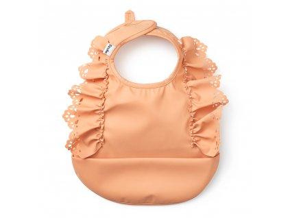 baby bib amber apricot elodie details 30400156153NA 1000px
