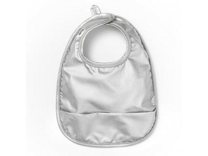 baby bib stone silver elodie details 30400158340NA