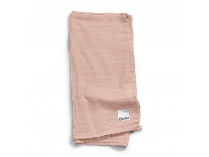 bamboo muslin blanket powder pink 1000px