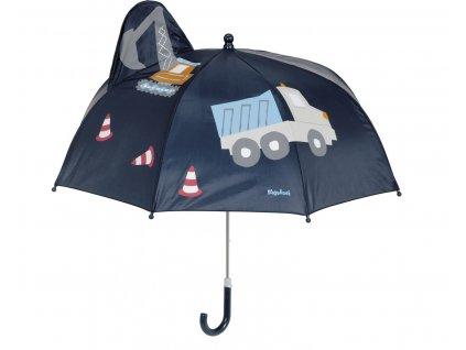 Dětský deštník Playshoes bagr