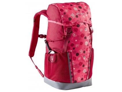 Dětský batoh Vaude Puck 14 L Bright pink / cranberry