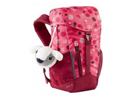 Dětský batoh Vaude Ayla 6L Bright pink / cranberry